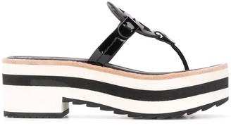 Tory Burch platform thong sandals