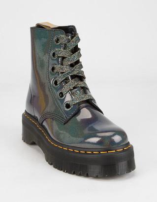 Dr. Martens Vegan Molly Womens Platform Boots