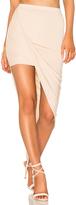 Blq Basiq Wrap Skirt