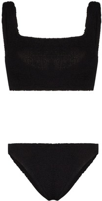 Hunza G Cropped Bikini Set