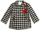 Péro Reversible Wool Flannel Coat