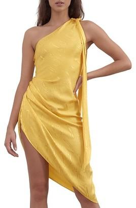 Ronny Kobo Zoey Asymmetrical Dress