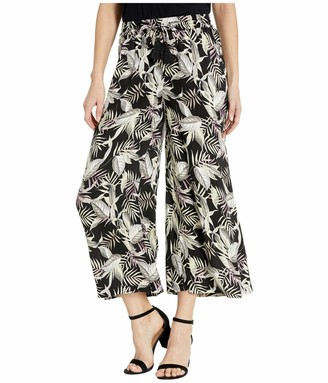 Tribal Women's Wide Leg Palazzo Pant Stretch Pull On