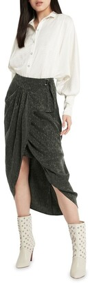 Sass & Bide Ace Of Spades Skirt