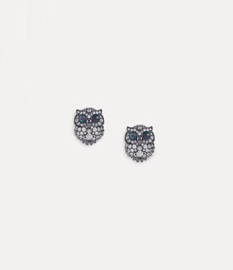 Vivienne Westwood Louisette Earrings Gunmetal-Tone