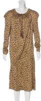 Vivienne Westwood Leopard Print Midi Dress w/ Tags