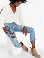 Lucky Brand Bridgette Slim Striaght Jean