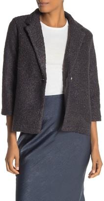 Bobeau Boucle Knit Jacket