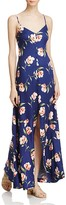 Sadie & Sage Button Down Floral Maxi Dress - 100% Exclusive