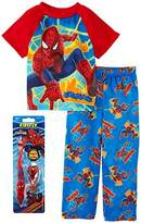 Spiderman Little Boys Pajama and Toothbrush Gift Set