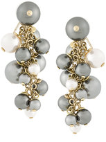 Lanvin pearl embellished drop earrings
