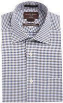 Black Brown 1826 Grid Print Dress Shirt