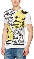 Antony Morato Men's Mmks00986-Fa100064 T-Shirt,Medium