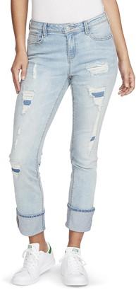 Black Daisy Women's Kate Straight Leg Jean Pants