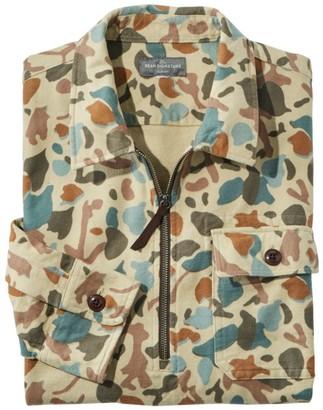 L.L. Bean Men's 1933 Chamois Cloth Trapper Shirt