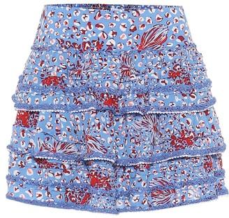 Poupette St Barth Exclusive to Mytheresa Bibi printed miniskirt