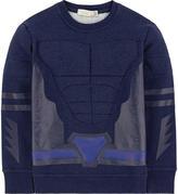 Stella McCartney Super Hero organic cotton sweatshirt