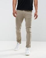 Just Junkies Skinny Jeans In Tan