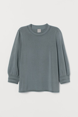 H&M Fine-knit viscose-blend top