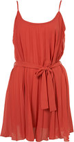 Pleated Strap Dress by Rare**