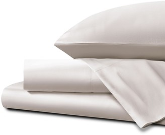 Homestead UK Single Ultra Soft Sateen Sheet Set - White Sand