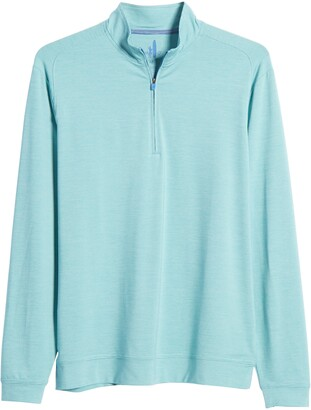 johnnie-O Vaughn Classic Fit Quarter Zip Performance Pullover