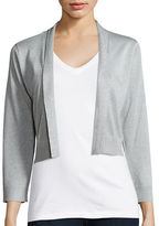 Calvin Klein Shimmer Open Front Cardigan