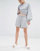Monki Jersey Sweat Shorts