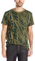 G Star Men's Studam R T Short-Sleeve T-Shirts Sage