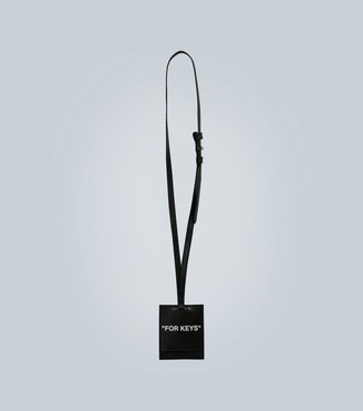 Off-White Quote key holder necklace