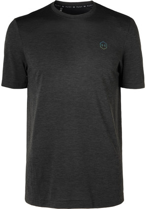 Under Armour Ua Rush Mesh-Panelled Heatgear T-Shirt