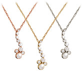 Disney Diamond Mickey Mouse Pendant Necklace - 18K