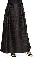 Alex Evenings Long Illusion A-Line Skirt