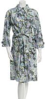 Nina Ricci Long Floral Coat w/ Tags