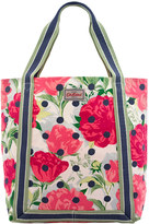 Cath Kidston Peony Spot Reverse Coated Tote