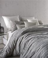 DKNY Loft Stripe Gray King Duvet Cover