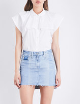 AG Jeans The Marina stretch-cotton top