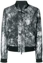 Giorgio Brato metallic bomber jacket