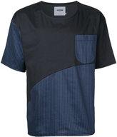Factotum contrast T-shirt - men - Polyester - 44