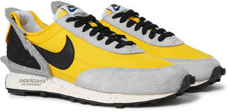 Nike Undercover Daybreak Leather-Trimmed Nylon And Suede Sneakers