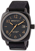 Briston Clubmaster Classic HMS Date Watch, Black