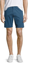 Theory Zaine Witten Stretch-Cotton Shorts