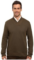 Perry Ellis Textured Crossover V-Neck