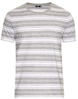Vince Jaspe Multi-stripe T-shirt