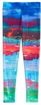 ONZIE Girls' Abstract Beach Scene Print Leggings - Sizes 4-16