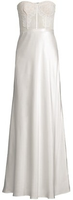 CAMI NYC The Charlize Strapless Gown