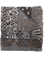 Etro printed scarf - men - Silk/Acrylic/Polyester/Alpaca - One Size
