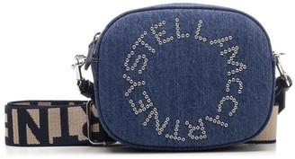 Stella McCartney Denim Logo Belt Bag