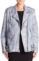 Alexander Wang Classic Leather Biker Jacket