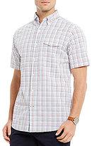 Daniel Cremieux Graph Seersucker Short-Sleeve Woven Shirt
